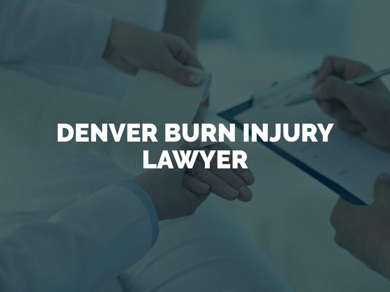 Doctor bandaging burn injury