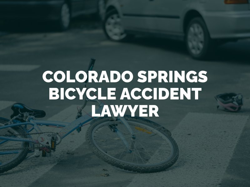 Colorado Springs Bicycle Accident Lawyer